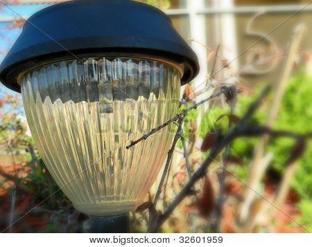 A street lamp