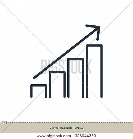 Stock Exchange Finance Logo Template, Advisory Vector Icon Illustration Design. Vector Eps 10.