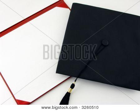 Blank Diploma And Cap