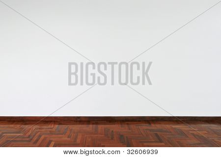 White empty wall background