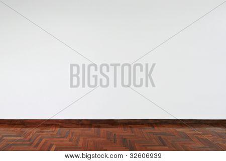 Weiße leere Wand-Hintergrund