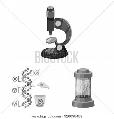 Isolated Object Of Transgenic And Organic Logo. Collection Of Transgenic And Synthetic Stock Vector