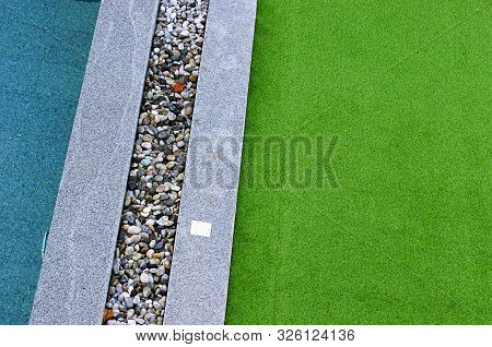 Artificial Grass, Architecture Decoration Design Of Grass Field Around Home, Artificial Grass, Fake