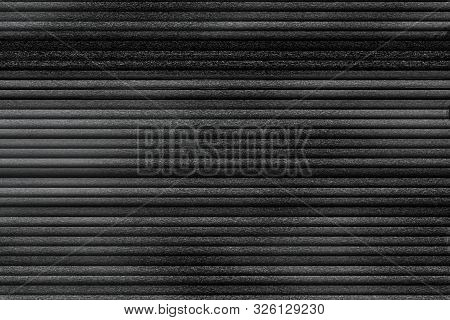Grey, Black And White Vhs Glitch Noise Background Realistic Flickering, Analog Vintage Tv Signal Wit