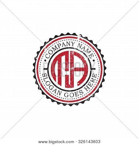 Ta Initial Logo Inspirations,vintage Badge Logo Design, Letter Logo Template