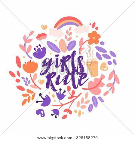 Cute Beautiful Floral Lavender Women/'s Tee Image by Shutterstock