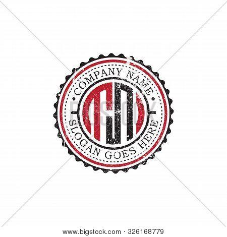 Tn Initial Logo Inspirations,vintage Badge Logo Design, Letter Logo Template
