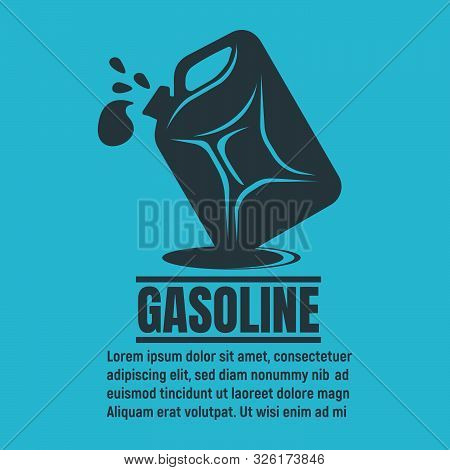 Banners Of Oil Business. Oil Development And Extraction Flyer. Gasoline, Petrol Station, Research. W