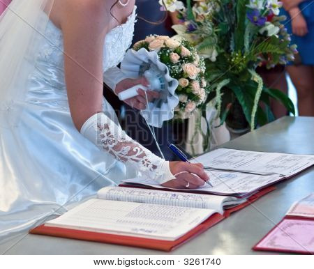 The Conclusion Of The Wedding Union