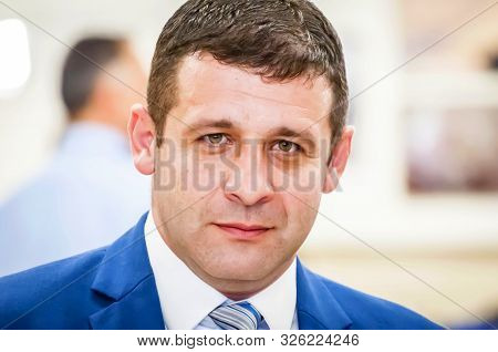 Knesset, Jerusalem, Israel. October 3, 2019. Israeli Politician Alex Kushner Of The Yisrael Beitenu