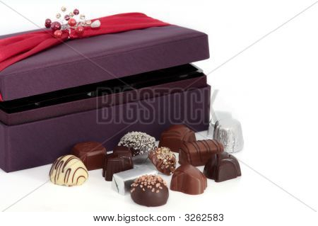 Luxury Chocolates And Box