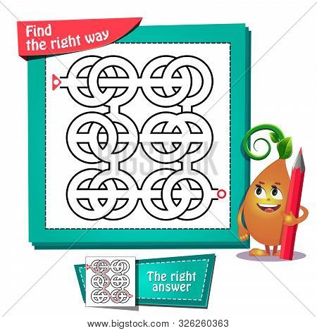 Maze  Find The Right Way