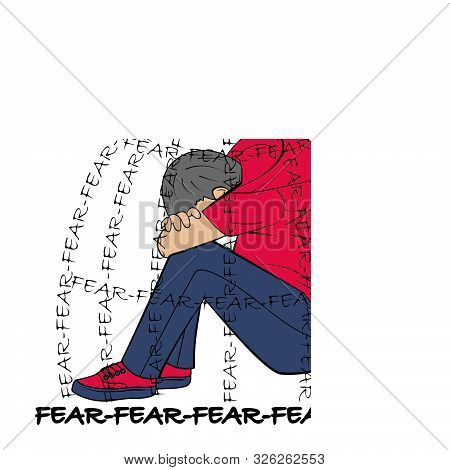 Of Emotion Of Fear Concept