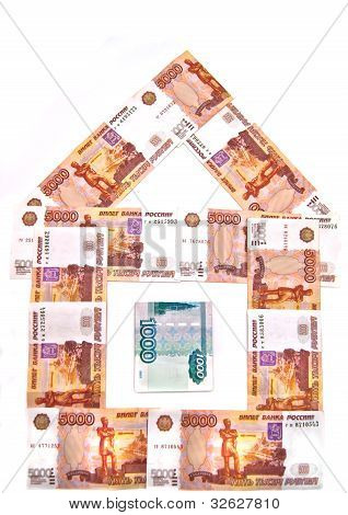 Money House Of Russian Banknotes