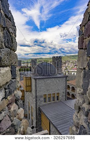 View Of The Medieval Town From The Embrasure, Rabati, Akhlatsikhe, Georgia, May.2017