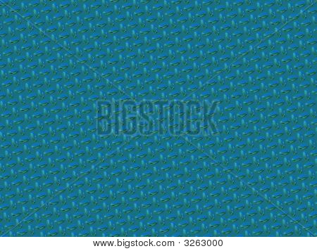 Bluegreen Diamond Plate