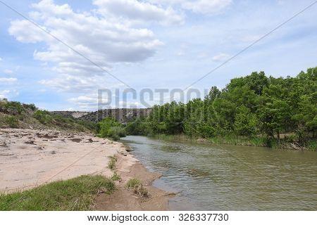Scenic Verde River, Desert Southwest, Camp Verde, Arizona.