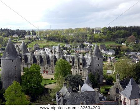 View of Josselin Chateau