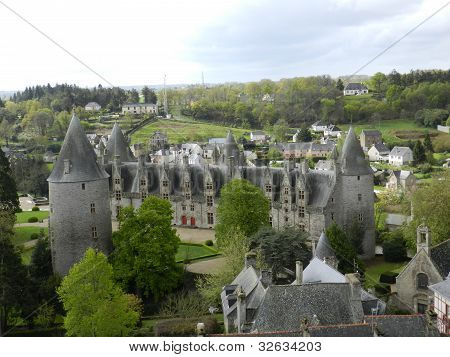 Josselin Chateau, Brittany, France