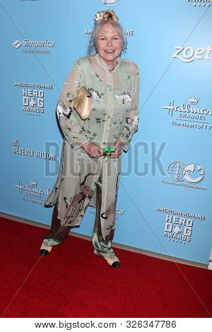 LOS ANGELES - OCT 5:  Michelle Phillips at the 9th Annual American Humane Hero Dog Awards at the Beverly Hilton Hotel on October 5, 2019 in Beverly Hills, CA