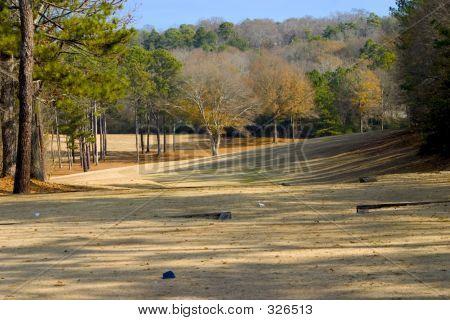 Winter Golf Coarse