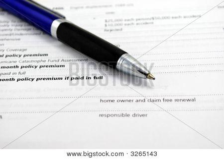 Pen And Bills