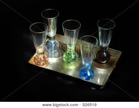 Lightpaintshotglasses