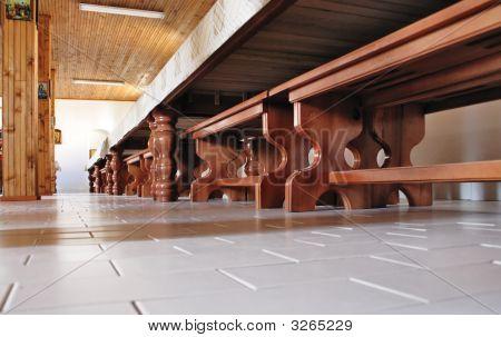 Inside A Monastery