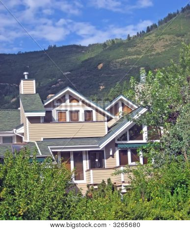 Upscale Home In The Rocky Mountains