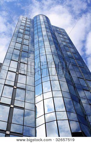 Business skyscratch building