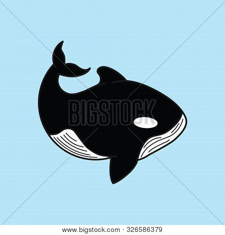 Whale Icon Isolated. Whale Icon Trendy And Modern Whale Symbol For Logo, Web, App, Ui. Whale Icon Si