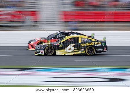 September 29, 2019 - Concord, North Carolina, USA: Ryan Newman (6) during the Bank of America ROVAL 400 at Charlotte Motor Speedway in Concord, North Carolina.