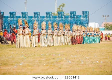 Surin Traditional Dresses Row Front