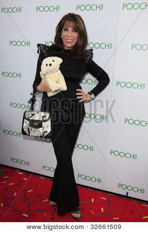 LOS ANGELES, CA - MAY 3: Kate Linder at the grand opening of the Pooch Hotel on May 3, 2012 in Hollywood, Los Angeles, CA. The Pooch Hotel is billed as a luxury hotel and daycare exclusively for dogs.
