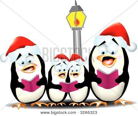 Caroling Penguins