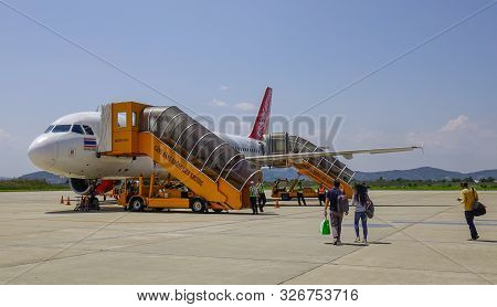 Airbus A320 Airplane Of Vietjet Air