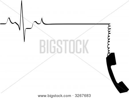 Heart Rhythm  Phone Dangling