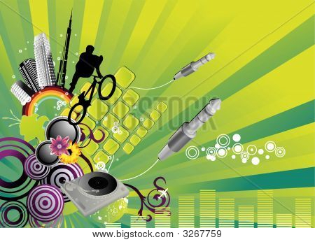 City Abstract Vector