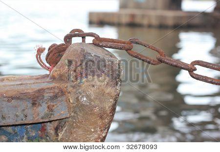 fishing boat bow
