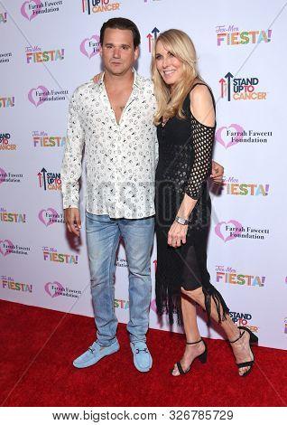 LOS ANGELES - SEP 06:  Sean Stewart and Alana Stewart arrives for the Farrah Fawcett Foundation's