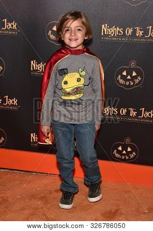 LOS ANGELES - OCT 02:  Jeremy Maguire arrives for Nights of the Jack VIP Preview on October 02, 2019 in Calabasas, CA