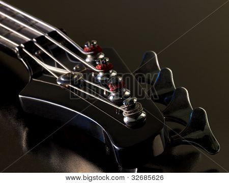 Bass Guitar Detail