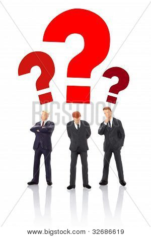 Businessmans Thinking