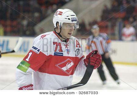 Forward Of Spartak Zavarukhin Alexey