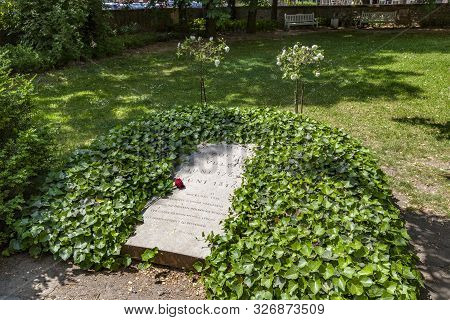 Weimar, Germany - May 27, 2012: Grave Of Christiane Von Goethe, The Wife Of Johann Wolfgang Von Goet