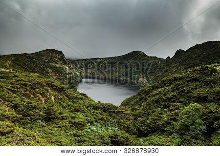 Poco da ribeira do ferreiro, Flores, Azores, Portugal