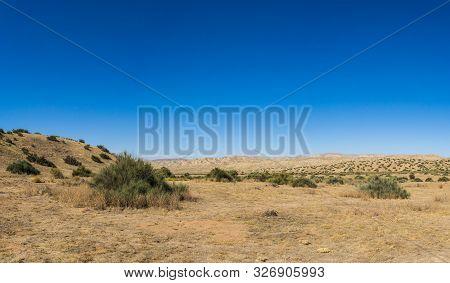 Open Desert In Southern California