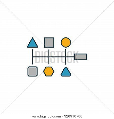 Variety Icon. Outline Filled Creative Elemet From Big Data Icons Collection. Premium Variety Icon Fo