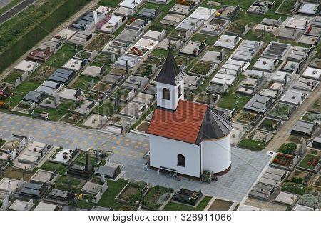 IVANIC GRAD, CROATIA - JUNE 19, 2011: Chapel of St. James in Ivanic Grad, Croatia