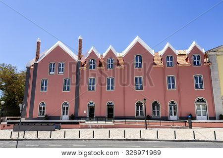 Facade Of The Cascais Cultural Centre Housed In The Former Convent Of Our Lady Of Mercy Of The Order